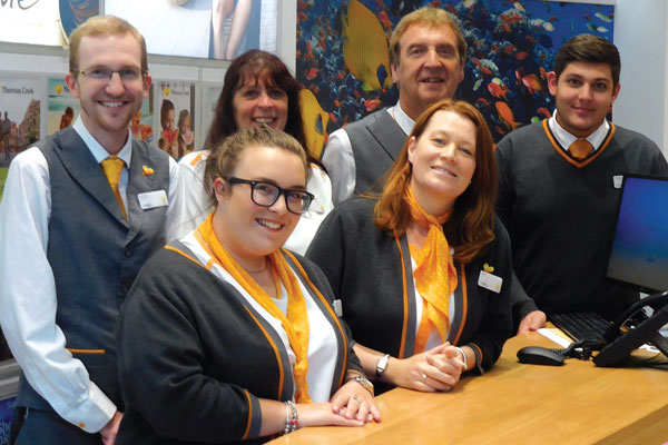 A day with… Thomas Cook, Westfield Stratford