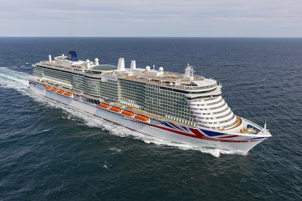 P&O Cruises takes delivery of Iona