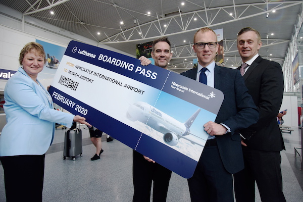 Lufthansa to link Newcastle and Munich