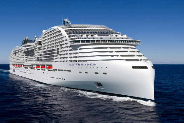 Coin ceremony held for MSC Cruises' first LNG-powered ship