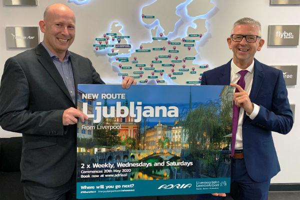 Liverpool airport secures Ljubljana air link