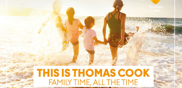 Thomas Cook Summer Campaign families 2019