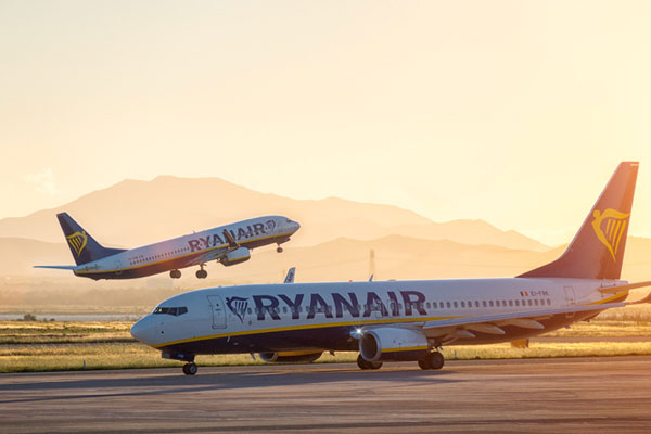 Almost 19,000 Ryanair flights delayed in August