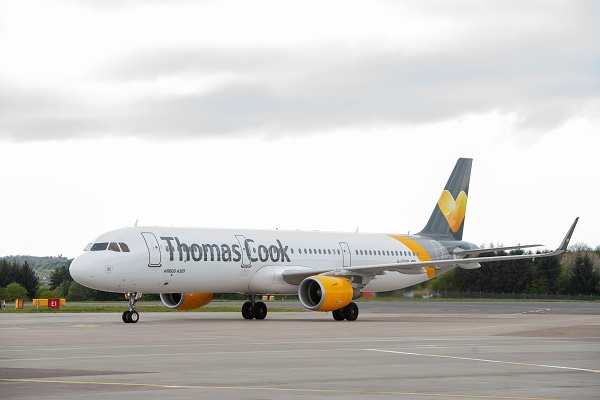 Thomas Cook airport slots attract bids from rival airlines