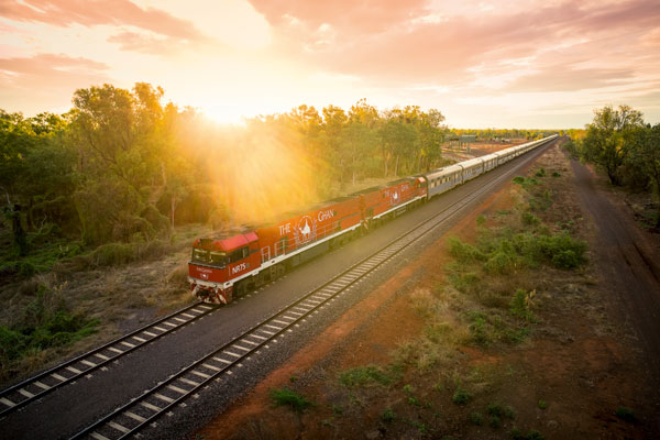 Adventure in Australia's outback on board The Ghan