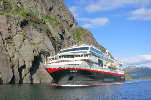 Hurtigruten offers no-fly expedition cruises from Dover