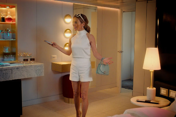 Video: Spice Girl Geri Horner checks out Virgin Voyages' suites
