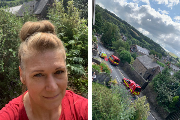 Travel Counsellor takes in stricken Whaley Bridge residents in 'mortal danger'
