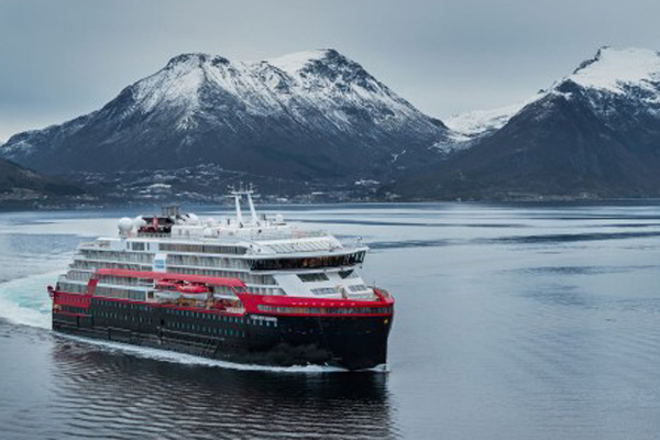 New Hurtigruten ship to offer four ex-UK sailings in 2020