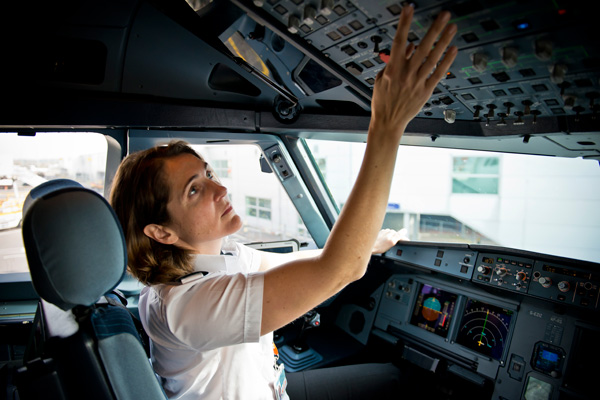 Gender 'no barrier' to becoming a pilot, says Balpa