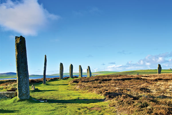 Scottish history on the Orkney Islands