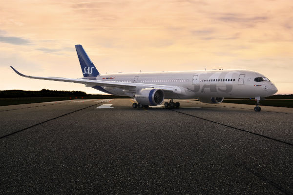 SAS takes delivery of new Airbus A350