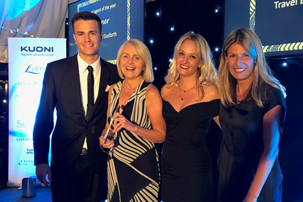 Independent agents honoured at first Kuoni awards