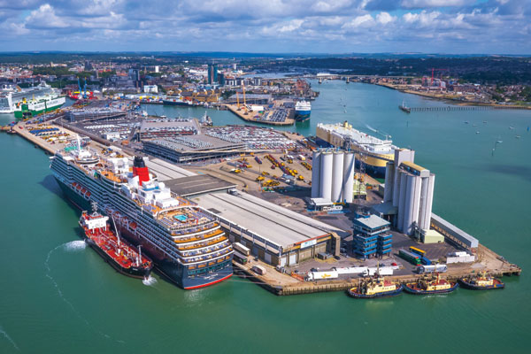 Southampton Port 'on course' for shore power