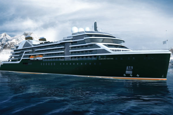 New Seabourn expedition ship to be christened in London