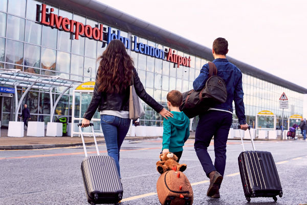 Highest numbers in seven years use Liverpool airport
