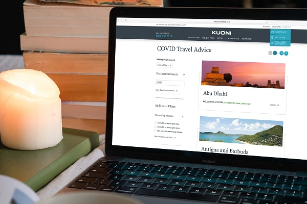Kuoni launches Covid Travel Advice Hub
