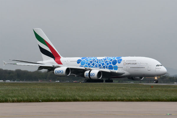 Emirates starts A380 Scottish summer service