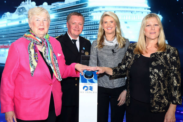 Sky Princess named by NASA female veterans