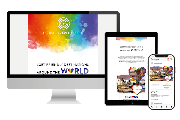 Global promotes holidays for LGBTQ+ travellers