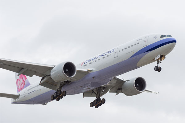 Gatwick announces China Airlines Taipei service