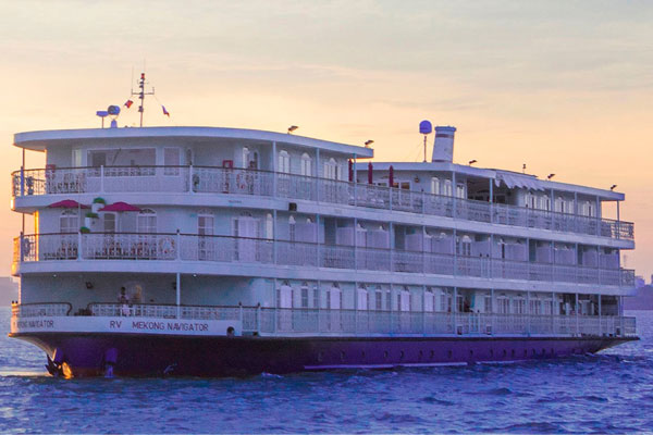 Lotus Cruises to launch luxury river ship for Upper Mekong