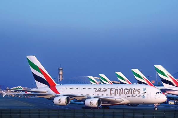 Emirates boss backs climate change campaigners