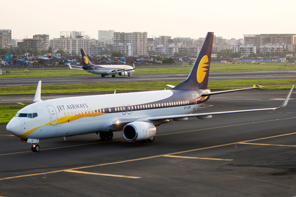 Jet Airways halts international flights