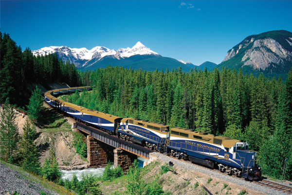 Rocky Mountaineer charts new US route