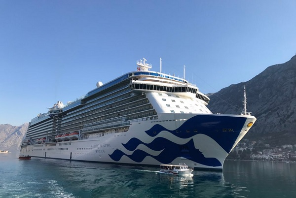 Majestic Princess completes maiden voyage with 200 UK agents