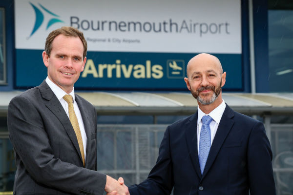 Bournemouth airport lands new boss