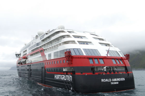 New Hurtigruten ship to be named in Antarctica