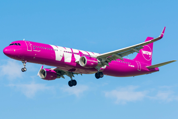 US low-fare carrier investor flies to the rescue of Wow Air