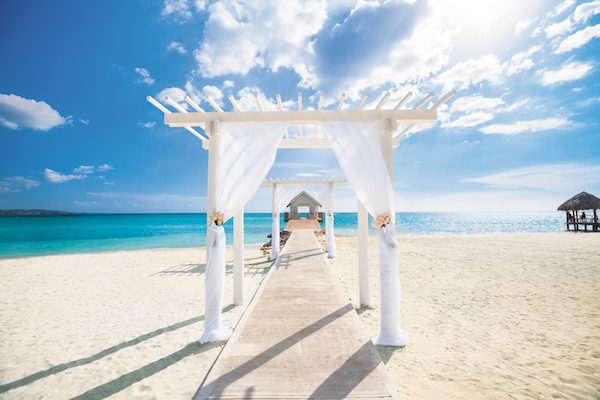 Sandals picks up on 'reverse weddings' trend during Covid restrictions