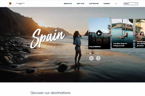 Spain revamps tourism website