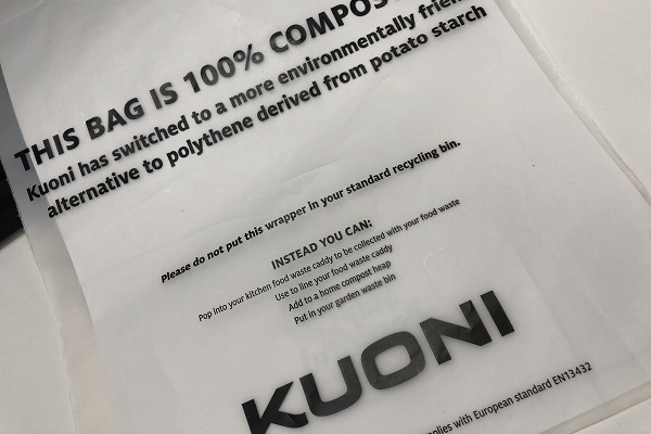 Kuoni moves to compostable brochure wrappers