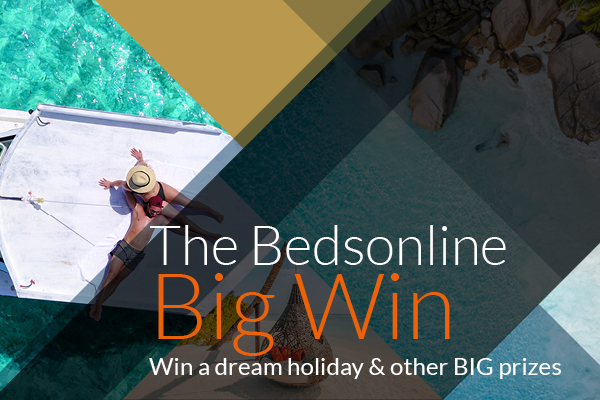 Win a dream holiday with Bedsonline