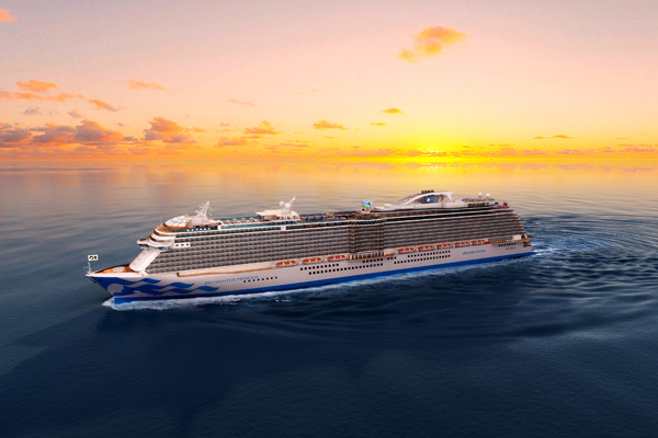 Enchanted Princess to sail in Mediterranean next summer