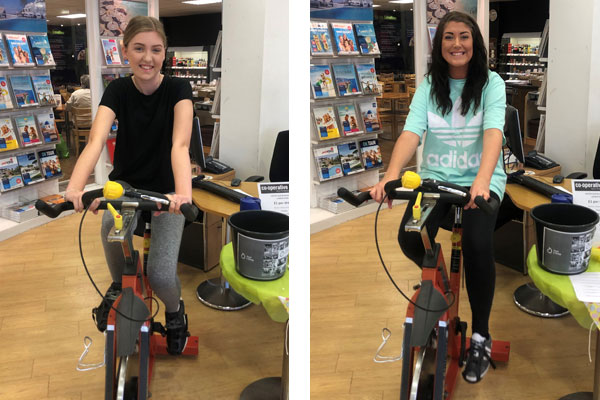 Co-op travel raises £8,754 for Just a Drop