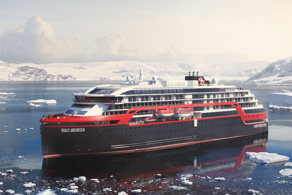 Hurtigruten delays new Roald Amundsen ship's maiden voyage
