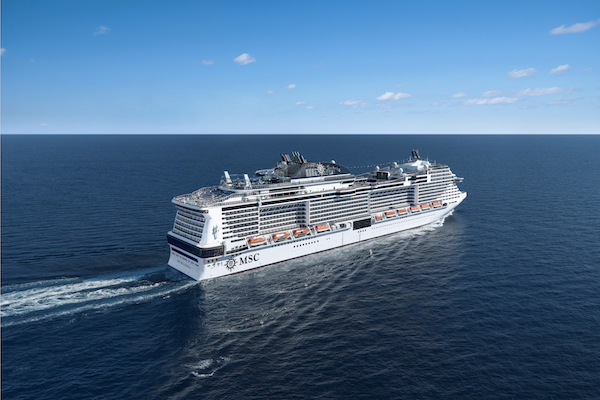 MSC Cruises sets sight on spring restart from Japan