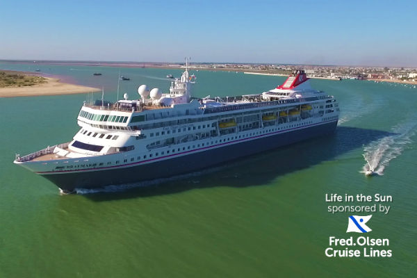 Fred Olsen Cruise Lines targets new audience with Channel 4 ads