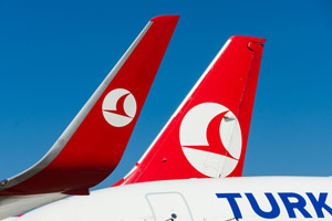 Turkish Airlines orders fifty wide-body aircraft from Airbus and Boeing