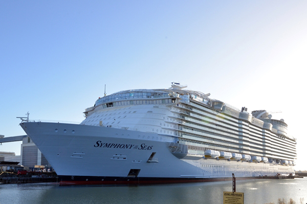 Sixth Oasis class mega ship ordered by Royal Caribbean