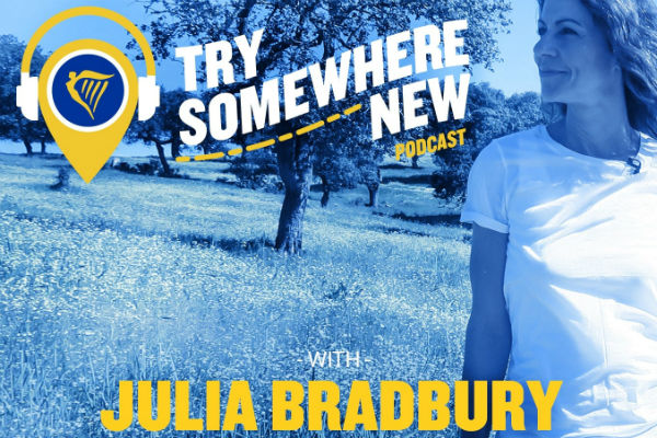 TV's Julia Bradbury hosts new Ryanair podcasts