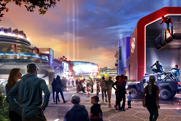 Disney names new Marvel land and Star Wars hotel
