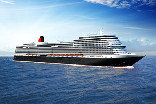 Cunard unveils new ship design team