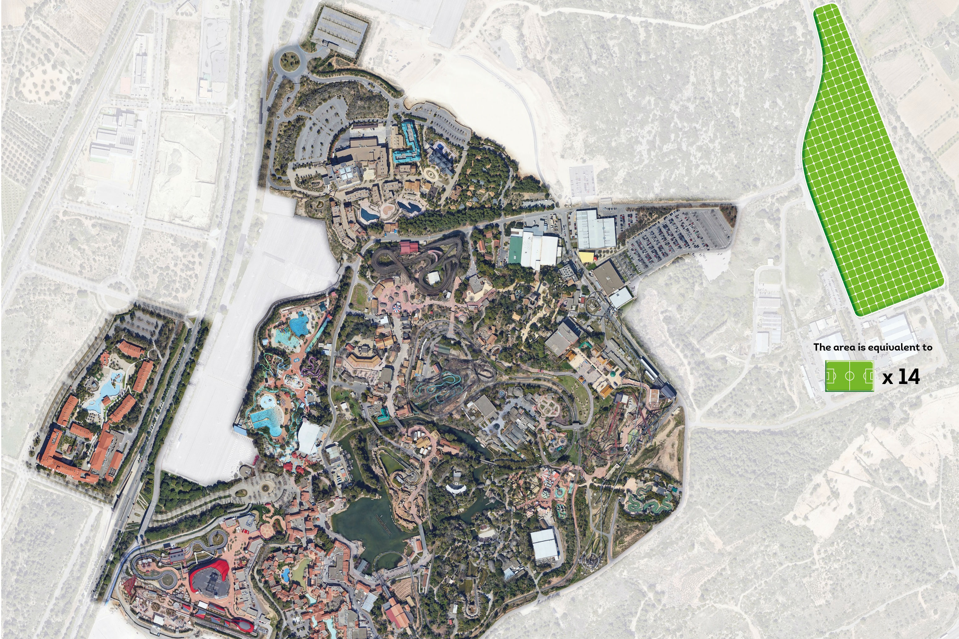 PortAventura World the home of Europes largest solar park resize