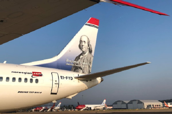 Norwegian carryings stall due to 737 Max grounding