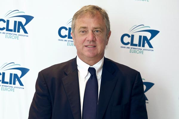 Pierfrancesco Vago reappointed as Clia Europe chairman